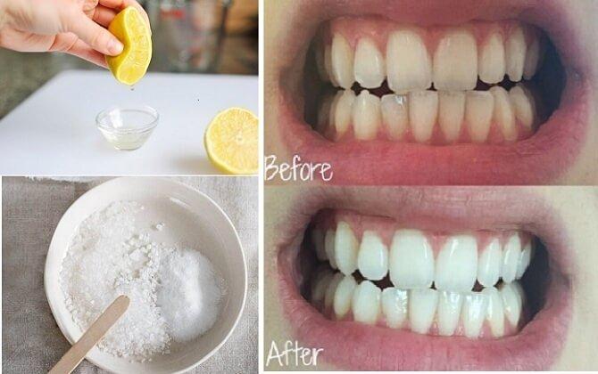 Làm trắng răng hiệu quả với chanh tươi