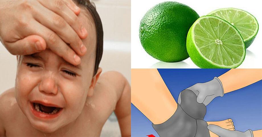 Bạn có thể uống nước chanh để hạ sốt