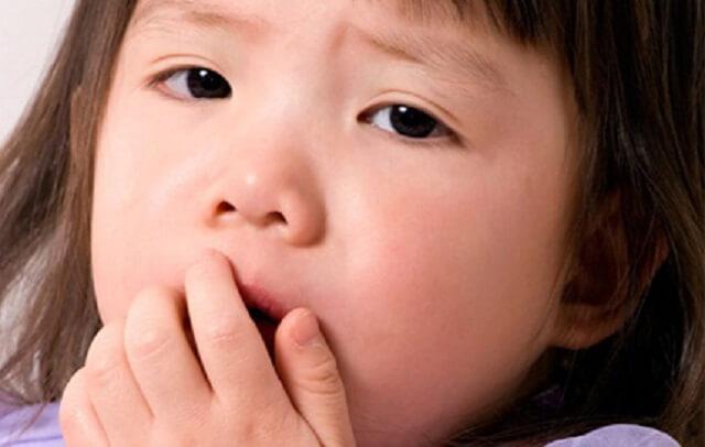 Ho khan là căn bệnh thường gặp ở trẻ em