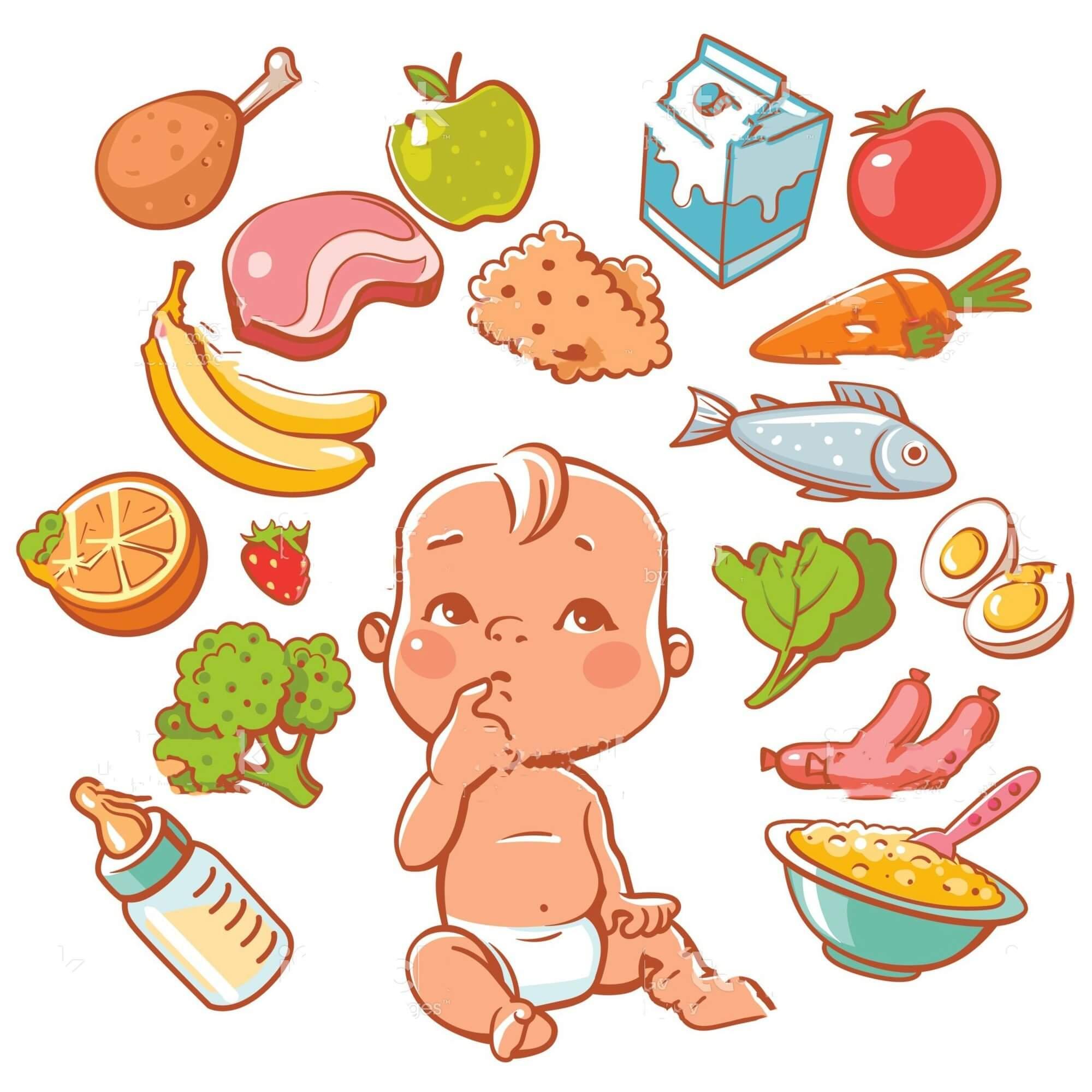 Điều chỉnh dinh dưỡng phù hợp cho trẻ cũng là cách khắc phục chàm sữa