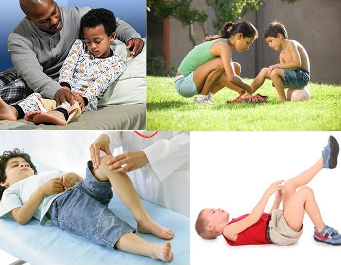 Đau khớp gối ở trẻ do nhiều nguyên nhân khác nhau