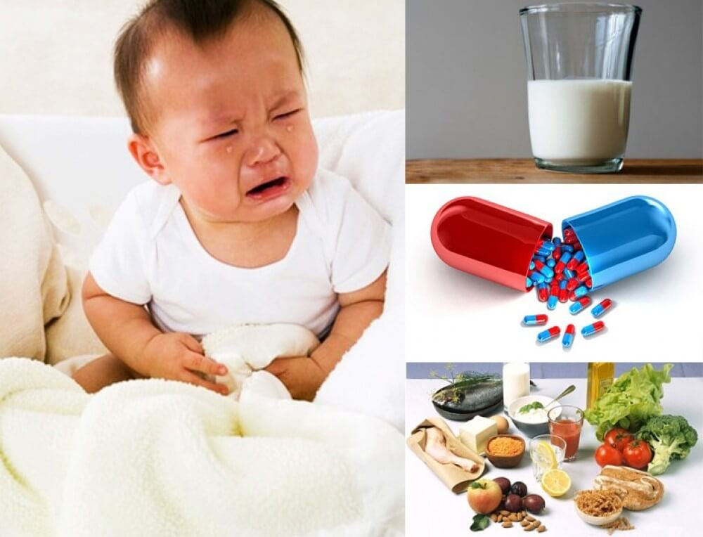 Có nhiều nguyên nhân gây ra bệnh đường ruột ở trẻ em