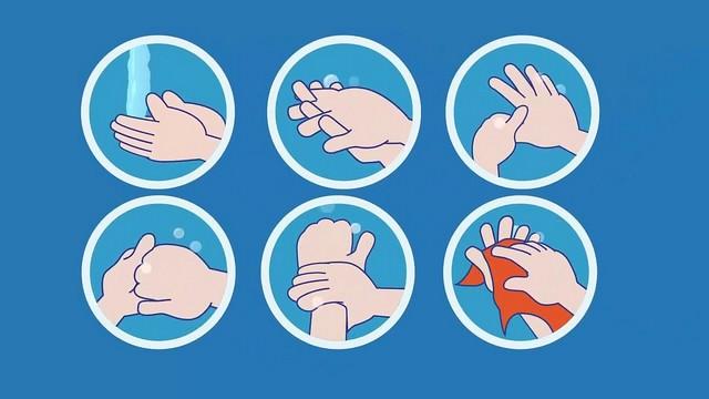 Nên tập cho trẻ thói quen rửa tay sạch trước và sau khi ăn