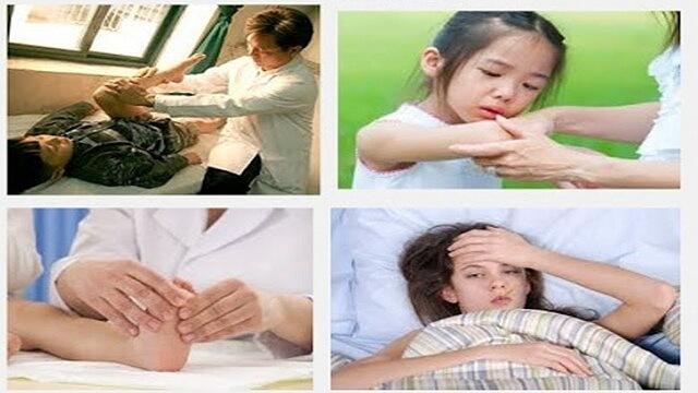 Bệnh gây đau khớp tại khuỷu tay, khủy chân, mắt cá