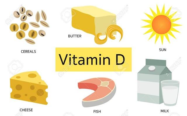 Vitamin D cũng góp phần thúc đẩy việc hấp thụ canxi ở trẻ nhỏ