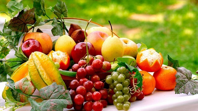 Hoa quả sẽ giúp trẻ tăng cường hệ miễn dịch và sức đề kháng