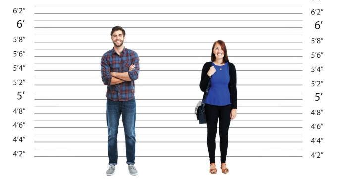 Độ tuổi ngừng phát triển chiều cao ở nam và nữ là khác nhau